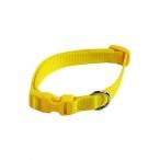 Papillon Нейлоновый ошейник 10мм-20-30см, желтый (Adjustable nylon collar, 10 mm x 20 - 30 cm, colour yellow) 170209, 0,016 кг