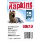 Napkins Впитывающие пеленки для собак 60*40, 10шт., 0,2 кг