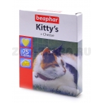 Beaphar Витамины для кошек со вкусом сыра, мышки (Kitty's Cheese)75шт. (12511), 0,072 кг