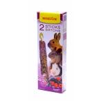 Benelux Лакомые палочки для грызунов с лесными фруктами (Seedsticks rodents Forest Fruit x 2 pcs) 36216, 0,13 кг