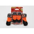 Барбоски Носки для собак с латексным покрытием, на завязках. Цвет оранжевый. 153191, 0,058 кг
