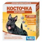 АВЗ (Агроветзащита) Подкормка Косточка Витамин, 100таб., 0,219 кг