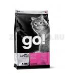 Корм Go! для Котят и Кошек с Цельной Курицей, фруктами и овощами (Daily Defence Chicken Cat Recipe 32/20), 1.82 кг