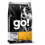 Корм Go! для Щенков и Собак с Цельной Уткой и овсянкой (Sensitivity + Shine Duck Dog Recipe 22/12), 0,23 кг