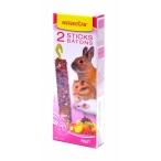 Benelux Лакомые палочки для грызунов с фруктами (Seedsticks rodents Fruit x 2 pcs) 36211, 0,13 кг