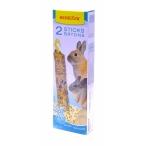 Benelux Лакомые палочки для грызунов с попкорном и рисом (Seedsticks xxl rodents popcorn/rice x 2 pcs) 36232, 0,18 кг
