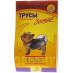 Зооник Трусы гигиенические для собак №0 (0710), 0,02 кг