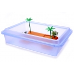 "Benelux Ванночка для черепахи прямоугольная M, 43,5 * 34 * 11 см (Turtle box ""tortuga"" medium) 4410, 0,58 кг"