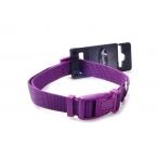 Papillon Нейлоновый ошейник 10мм-20-30см, фиолетовый (Adjustable nylon collar, 10 mm x 20 - 30 cm, colour purple) 170201, 0,016 кг