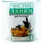 Чистые Лапки Наполнитель для грызунов, 4л, 1,5 кг