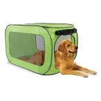 Kitty City Переносной домик для собак крупных пород 91*55*55 см, полиэстер (Portable dog kennel large) PL0015, 0,9 кг