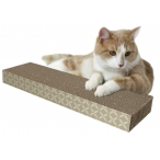 Kitty City Когтеточка доска малая, 4*13*46 см (Small corrugate scratcher) PL0419, 0,24 кг