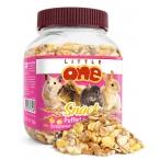 Little One Воздушные зерна - лакомство для всех видов грызунов, 0,1 кг