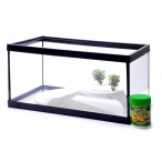 Benelux Акварум с декором, 36*24*24 см (Lot promo fishtank + decoration + food) 44106, 2 кг