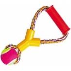 "Dezzie Игрушка ""Веревка № 7"" для собак, 25см, 180-190г, хлопок, пластик, резина (5608030), 0,19 кг"