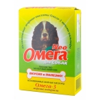 Астрафарм Омега Нео витамины для собак с морскими водорослями, 90таб.(13016), 0,02 кг