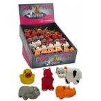 """Papillon Игрушка для собак """"Американская ферма"""", 8-10см, латекс (Zoo animals) 140047, 0,045 кг"""