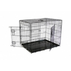 Papillon Клетка металлическая с 2 дверками 87*58*67 см, черная (Wire cage black 2 doors) 151287, 13,2 кг