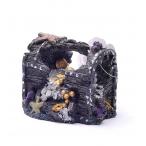 "Dezzie Аквадекор ""Клад"" 11,5*8*8см, пластик (5611082), 0,21 кг"