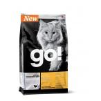 Корм Go! Беззерновой для котят и кошек с чувств. пищеварением со свежей уткой (Sensitivity + Shine Grain Free Duck Cat Recipe )31-15, 7.26 кг