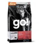 Корм Go! Беззерновой для щенков и собак с лососем для чувст. пищеварения (Sensitivity + Shine Salmon Dog Recipe, Grain Free, Potato Free), 0,23 кг