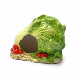 "Benelux Домик для хомячка ""Капуста"" 12 * 8 * 11 см (Hamster house cabbage pottery) 34235, 0,6 кг"