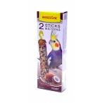 Benelux Лакомые палочки с кокосом для длиннохвостых попугаев (Seedsticks parakeet Coconut x 2 pcs) 16254, 0,11 кг