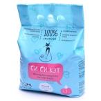 Си Си Кэт Комкующийся наполнитель, 100% натуральный, 5,3л (пакет), 3.3 кг