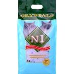 N1 Силикагелевый наполнитель (Crystals), 5л: Синий, 2 кг