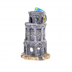 "Dezzie Аквадекор - Башня ""Сторожевая"", 13*13*19см пластик (5626099), 0,22 кг"
