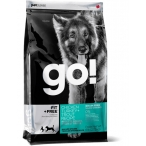 Корм Go! Беззерновой для Собак всех возрастов 4 вида мяса: Индейка, Курица, Лосось, Утка (Fit + Free Grain Free All life Stages)34/16, 11.35 кг