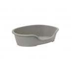 Moderna Лежак domus пластиковый 80см, 92х61х26, теплый серый, 2 кг