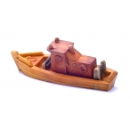 Benelux Декор для аквариумов, лодка 15*5*6 см, 150 г
