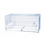 Benelux Клетка для птиц двойная с пластиковым дном 90x30x45 см, 15 кг