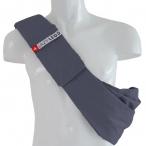 4LazyLegs Слинг-сумка для собак средних пород до 15 кг из 100% хлопка, синяя, 375 г