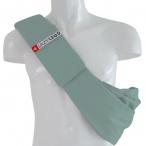 4LazyLegs Слинг-сумка для собак  средних пород до 15 кг из 100% хлопка, зеленая, 375 г