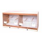 Benelux Деревянная клетка с дверцами для кормления 80*30*40 см, 6,84 кг
