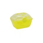 Moderna Переноска-корзинка Toprunner medium 39х29х25, средняя, лимонно-желтый, 700 г