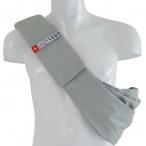 4LazyLegs Слинг-сумка для собак средних пород до 15 кг из 100% хлопка, серая, 375 г