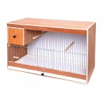 Benelux Деревянная клетка с гнездом, 62х30х40 см, 6,1 кг