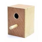 Benelux Деревянное гнездо-домик для волнистых попугайчиков 12,5*12*17 см H, 320 г
