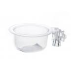 Benelux Пластиковая круглая кормушка для яичного корма большая o 6*3 см, 50 г
