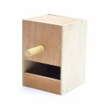 Benelux Деревянное гнездо для волнистых попугайчиков 12.5*12*17 см, 280 г