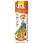 Cliffi Лакомства для волнистых попугаев и экзотических птиц: палочки с яйцами и медом Selection Energy, 60 г