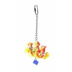 "Benelux Игрушка акриловая для попугаев ""Брелок"" 10x7см, 300 г"