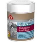 8in1 Excel Мультивитамины для собак мелких пород 70 таб.