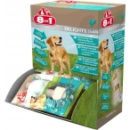 8in1 DENTAL DELIGHTS XS косточки с куриным мясом для мелких собак с минералами