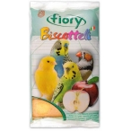 Fiory бисквиты для птиц Biscottelli с яблоком 30 г