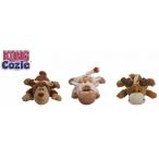 """Kong игрушка для собак """"Кози Натура"""" (обезьянка, барашек, лось) плюш, маленькие 13 см"""
