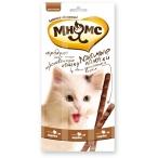 Мнямс лакомые палочки 13,5 см для кошек с индейкой и ягненком 3х5 г
